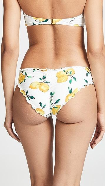 Kate Spade New York Lemon Beach 比基尼泳裤