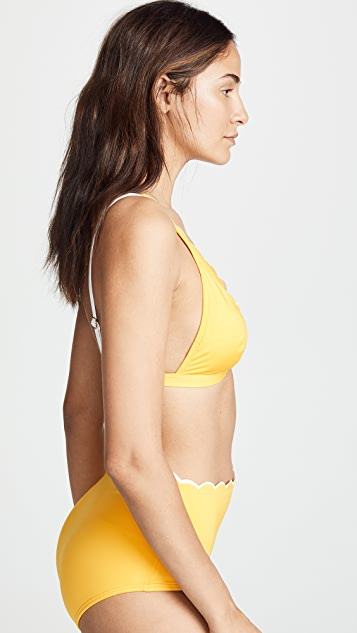 Kate Spade New York Fort Tilden French Bikini Top