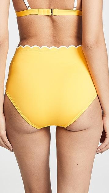 Kate Spade New York Fort Tilden 高腰比基尼泳裤
