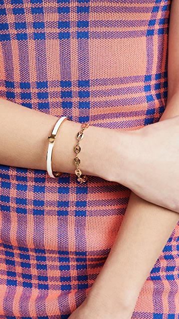 Kate Spade New York Heritage Spade Thin Enamel Bangle Bracelet
