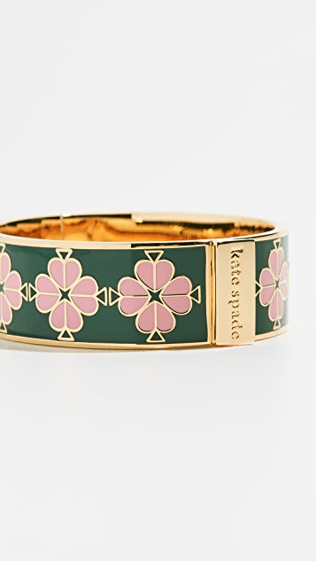 Kate Spade New York Heritage Spade Floral Bangle - Green Multi