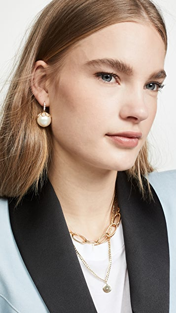 Kate Spade New York Pearlette French Wire Earrings