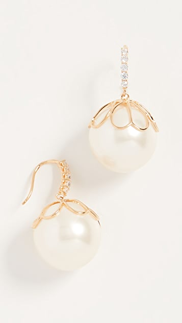 Kate Spade New York Серьги Pearlette French Wire
