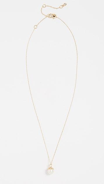 Kate Spade New York Pearlette Mini Pendant Necklace