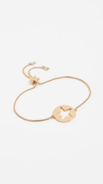 Kate Spade New York Symbols Star Slider Bracelet - Gold