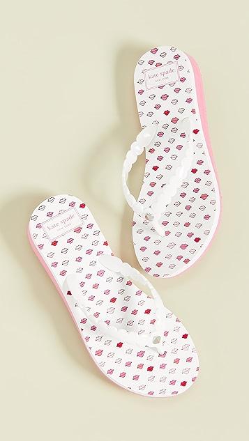 Kate Spade New York Malta Flip Flops
