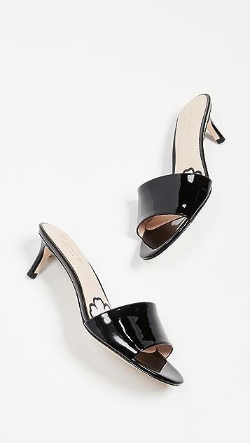 Kate Spade New York Savvi Kitten Heel Slide Sandals