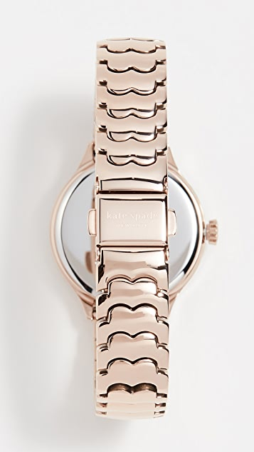 Kate Spade New York Geo Spade Floral Watch, 32mm