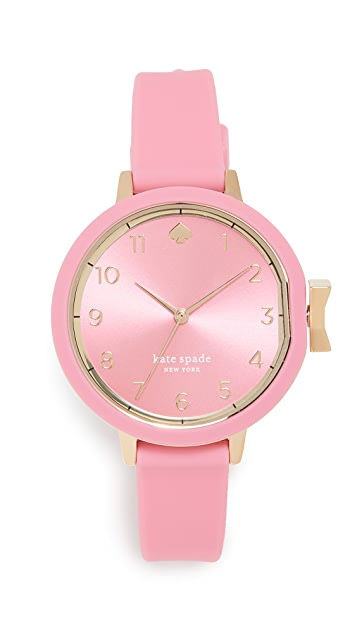 Kate Spade New York Silicone Watch, 34mm