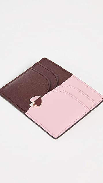 Kate Spade New York Nicola Bicolor Card Holder