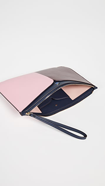 Kate Spade New York Nicola Bicolor Large Wristlet