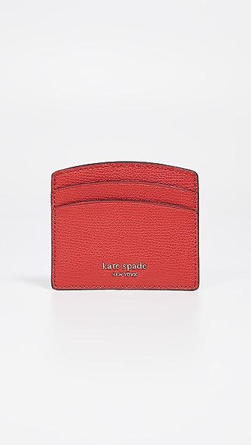 Kate Spade New York Sylvia Card Holder - Hot Chili