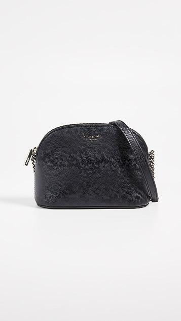 Kate Spade New York Sylvia Small Dome Crossbody Bag - Black