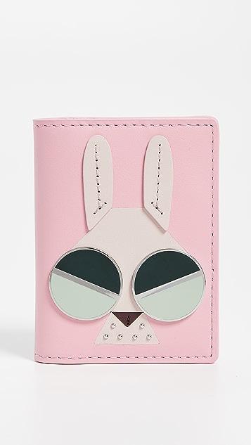 Kate Spade New York Spademals Money Bunny Bifold Card Case