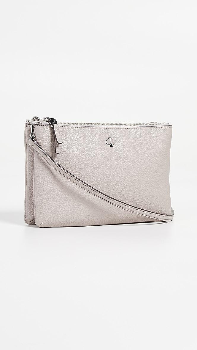 Kate Spade New York Polly Medium Double Gusset Crossbody Bag Shopbop