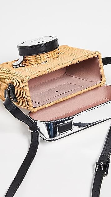 Kate Spade New York Розовая 3D-сумка для фотоаппарата