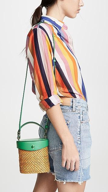 Kate Spade New York Rose Mini Bucket Bag