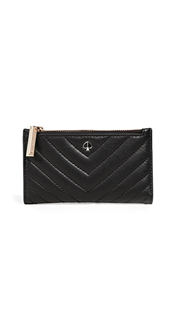 Kate Spade New York Amelia Small Slim Bifold Wallet
