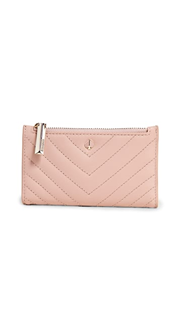Kate Spade New York Amelia Small Slim Bifold Wallet