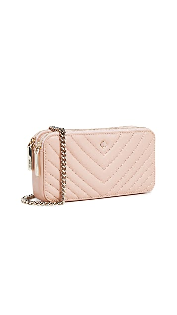 Kate Spade New York Amelia Double Zip Mini Crossbody Bag