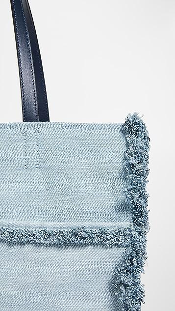 Kate Spade New York Большая объемная сумка с короткими ручками Sam с карманом