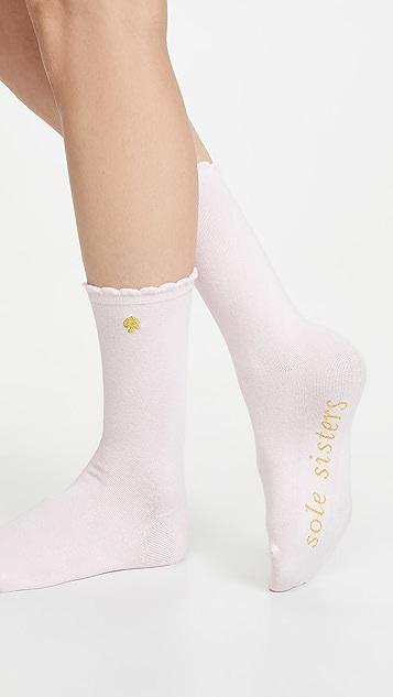 Kate Spade New York 3 Pack Bridesmaids Crew Socks