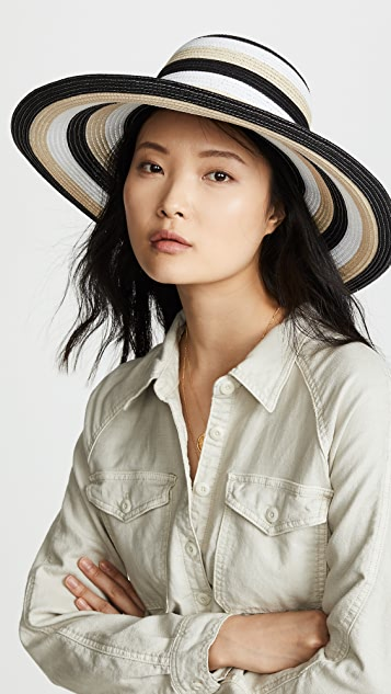 Kate Spade New York Stripe Sunhat