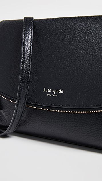 Kate Spade New York Polly 大号翻盖斜挎包