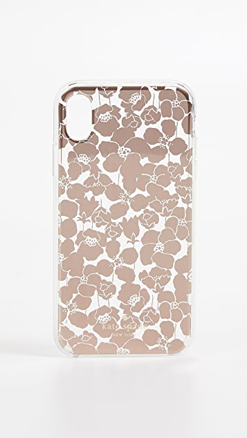 Kate Spade New York Floret Clear iPhone XR Case