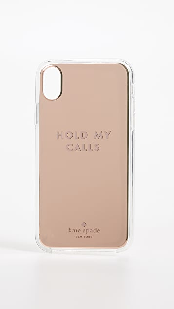 Kate Spade New York Hold My Calls iPhone XR Case