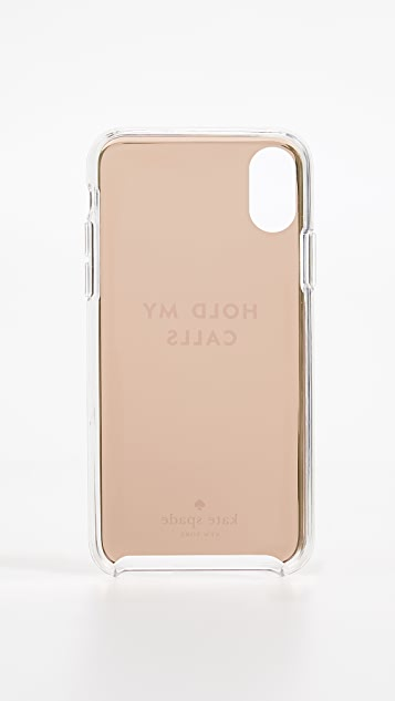 Kate Spade New York Hold My Calls iPhone XS / X Case