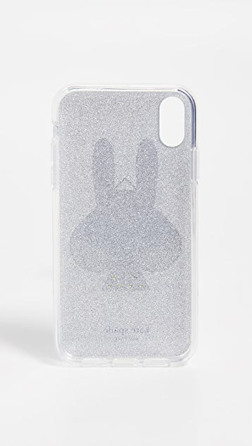 Kate Spade New York Glitter Money Bunny iPhone  XR Case