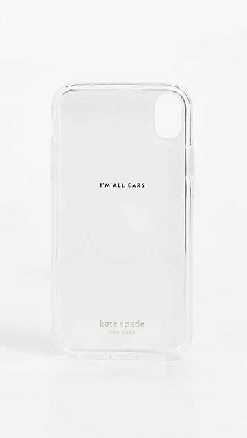 Kate Spade New York Marble Scallop iPhone Case