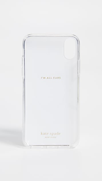 Kate Spade New York Marble Scallop iPhone XS / X Case