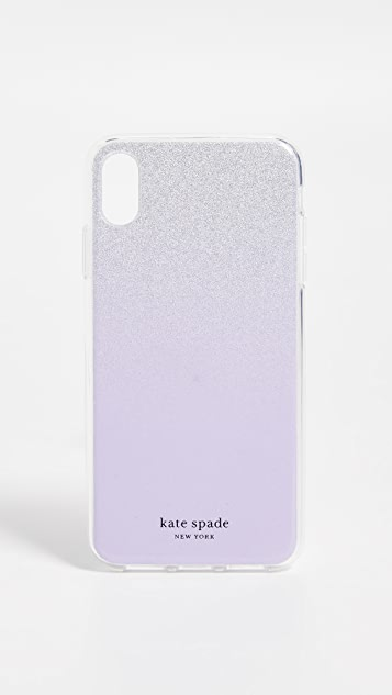 Kate Spade New York Glitter Ombre iPhone X Max Case