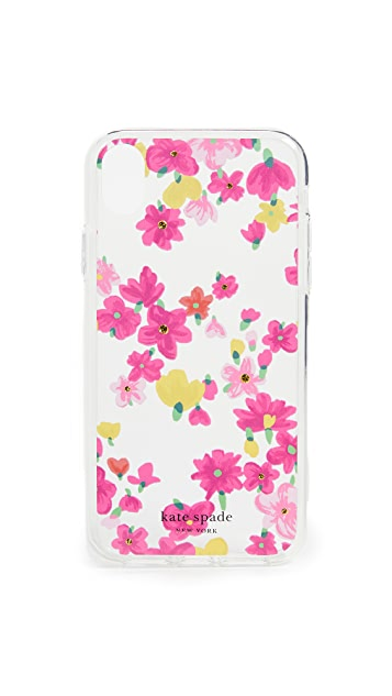 Kate Spade New York Jeweled Marker Floral XS Max iPhone Case