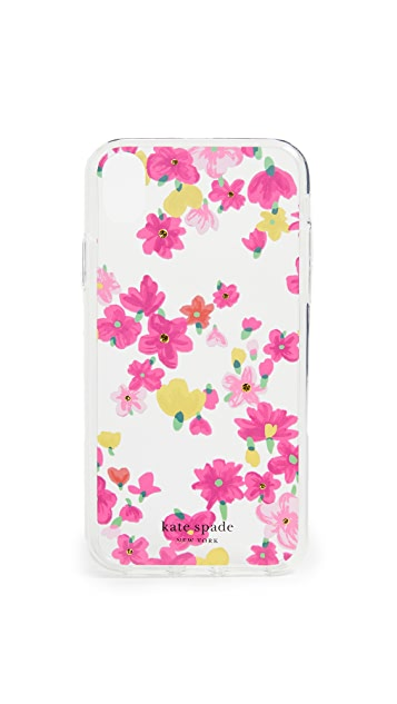 Kate Spade New York Jeweled Marker Floral XR iPhone Case