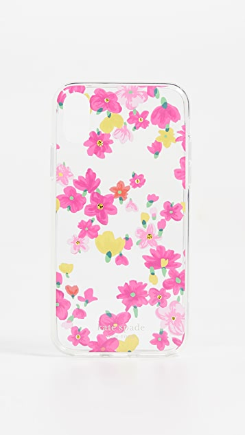 Kate Spade New York Jeweled Marker Floral iPhone XS / X Case