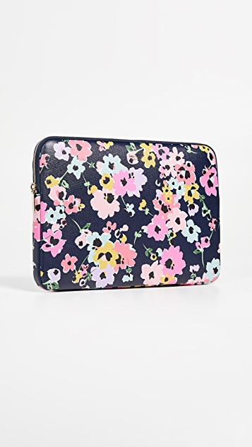 Kate Spade New York Wildflower Bouquet Universal Laptop Sleeve - Navy Multi