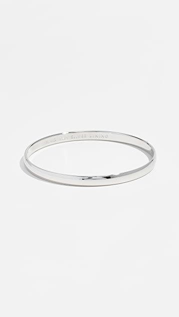 Kate Spade New York Find The Silver Lining Idiom Bangle