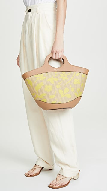 Kate Spade New York Объемная сумка с короткими ручками Summerton из соломки