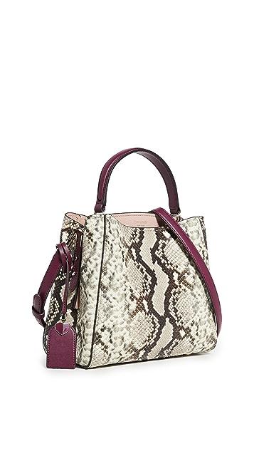Kate Spade New York Маленькая сумка-портфель Fleur с ручкой сверху