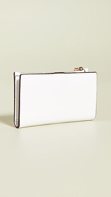 Kate Spade New York Sylvia Small Slim Bifold Wallet