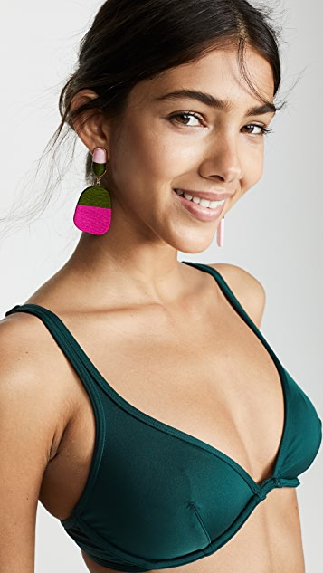 Kate Spade New York Bralette Bikini Top