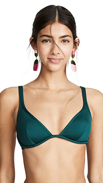 Kate Spade New York Bralette Bikini Top