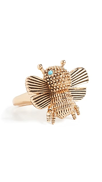 Kate Spade New York All Abuzz Bee Ring