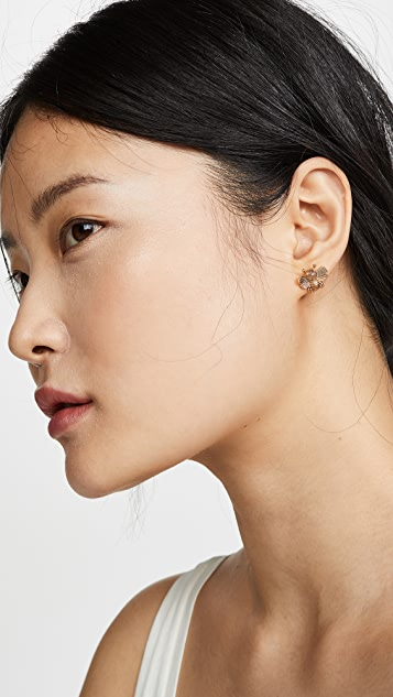 Kate Spade New York All Abuzz Bee Studs