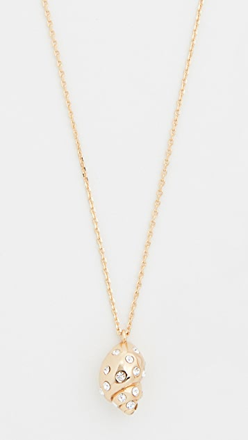 Kate Spade New York Under The Sea Mini Pave Necklace