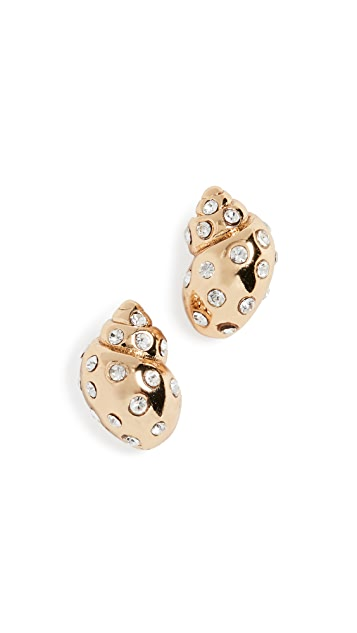 Kate Spade New York Under The Sea Pave Stud Earrings