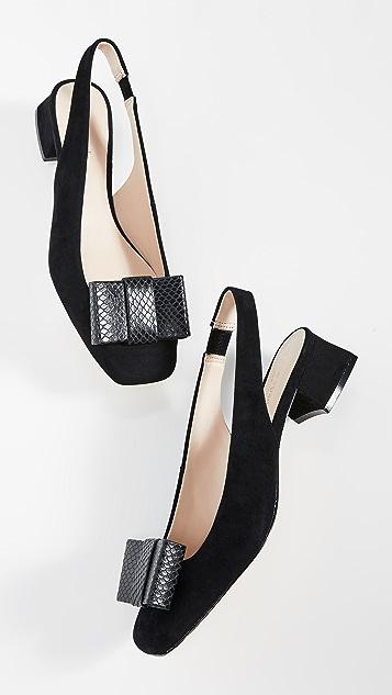 Kate Spade New York Sierra 粗跟浅口鞋